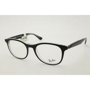 Ray Ban RB 5356 Eyeglasses 2034 Black Frames 52mm